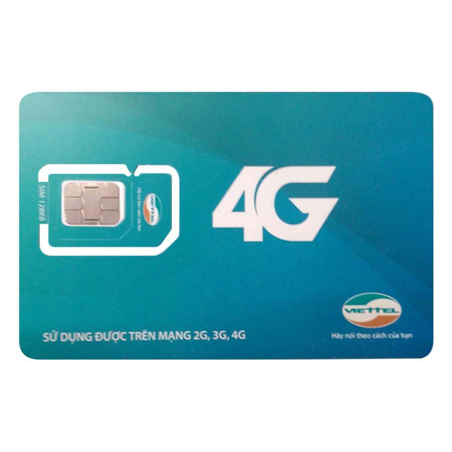 Sim 4G Viettel (10GB / Tháng)