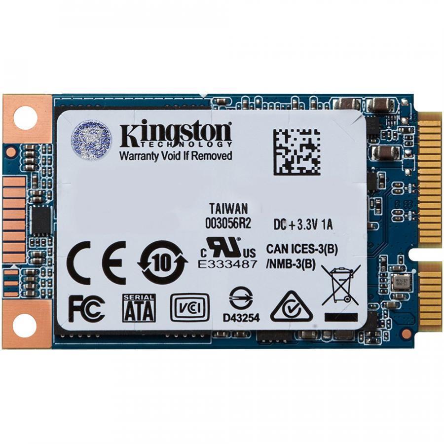 Ổ cứng SSD Kingston UV500 3D-NAND mSATA SATA III 120GB SUV500MS/120G - Hãng Chính Hãng