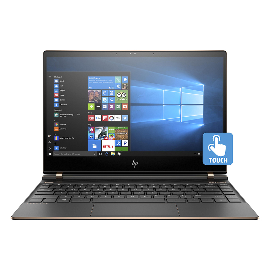 Laptop HP Spectre 13-af511TU 3MR91PA Core i7-8550U/Win10 (13.3 inch) (Dark Ash Silver) - Hàng Chính Hãng