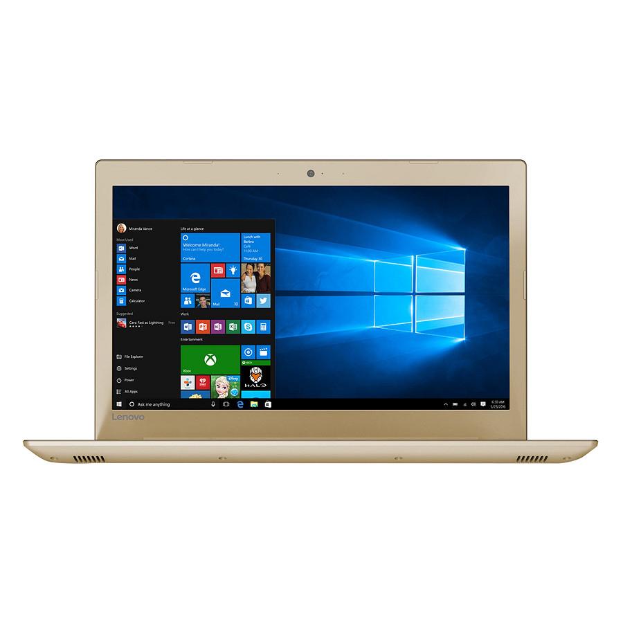 Laptop Lenovo IdeaPad 520-15IKBR 81BF00BSVN Core i5-8250U/Win10 (15.6 inch) - Hàng Chính Hãng (Gold)