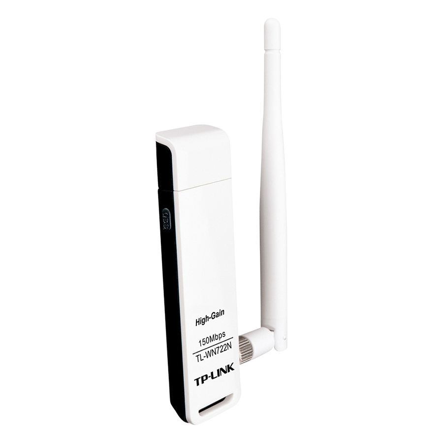 TP-Link  TL-WN722N - USB Wifi (high gain) tốc độ 150Mbps