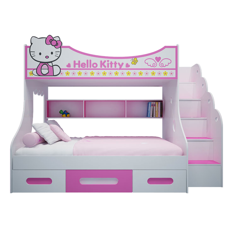 Giường Tầng Cao Hình Hello Kitty IBIE