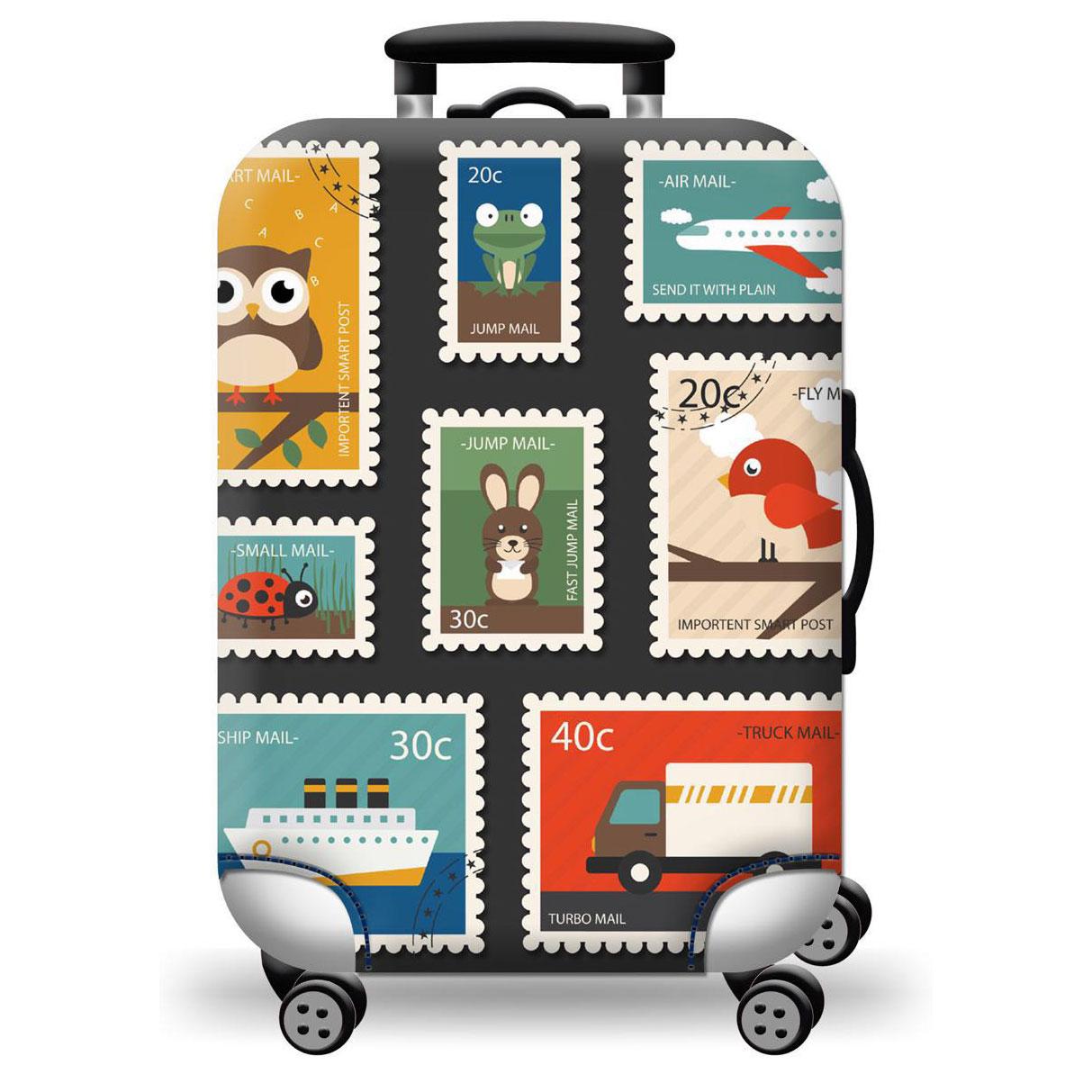 Túi bọc bảo vệ vali -Áo vỏ bọc vali - Tem Thư