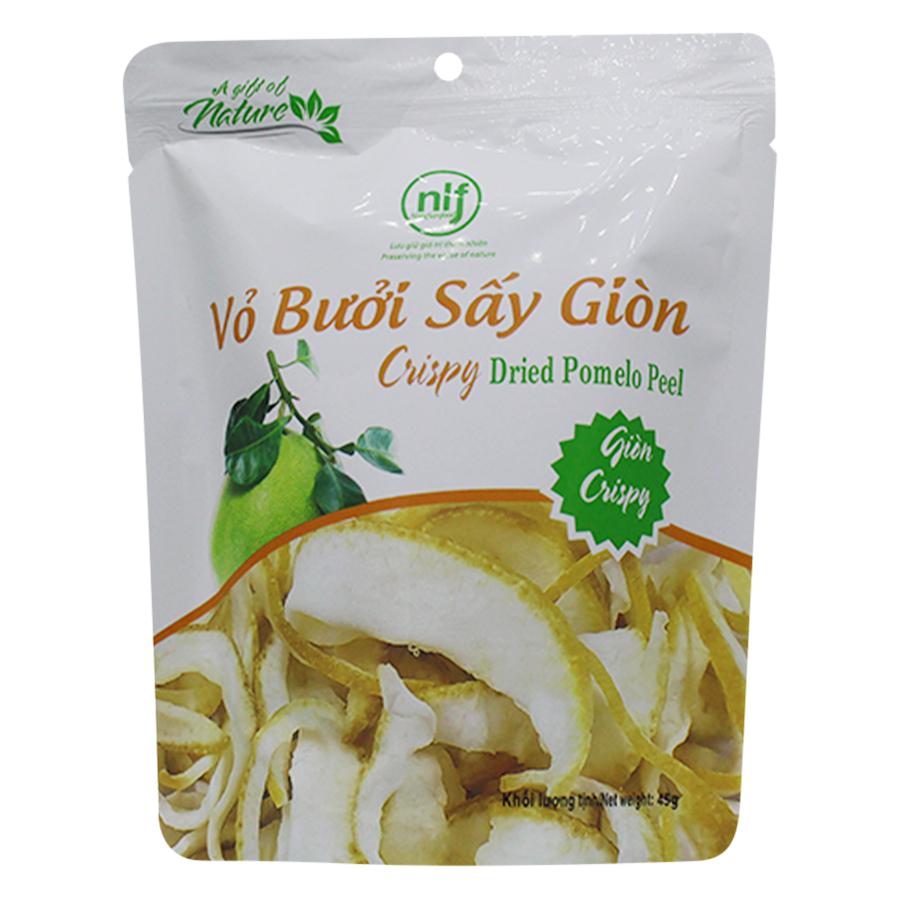 Vỏ Bưởi Sấy Giòn Nong Lam Food BGN45 (45g)