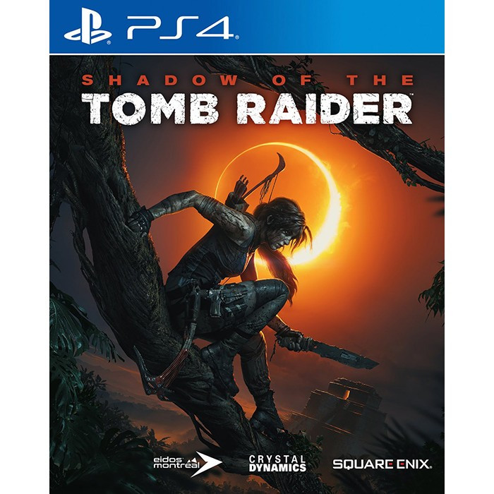 Đĩa Game PlayStation PS4 Sony Shadow Of The Tomb Raider Hệ Asia