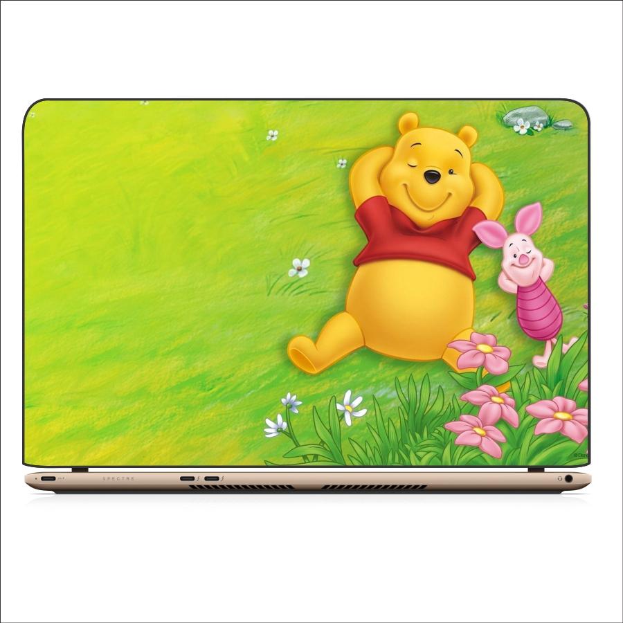 Skin decal in dành cho laptop Asus - hình gấu Pool