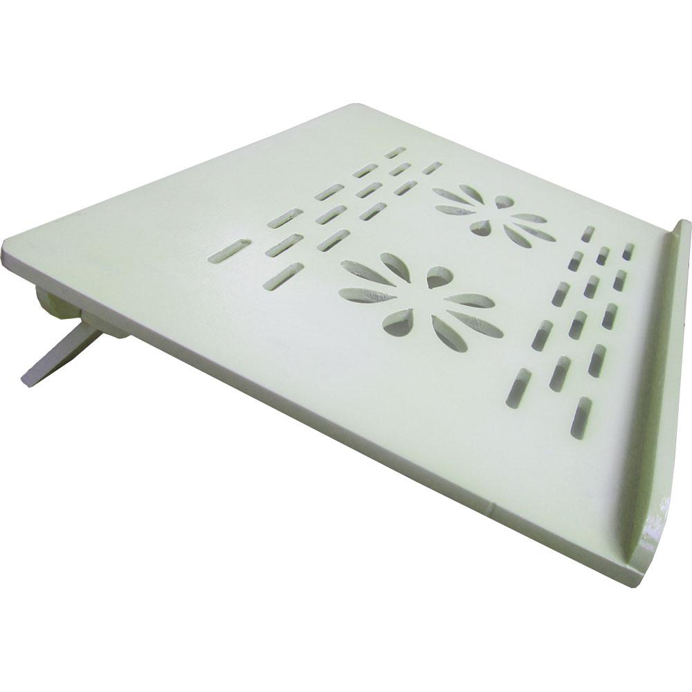 Bàn kê laptop NVLP03 trắng kem