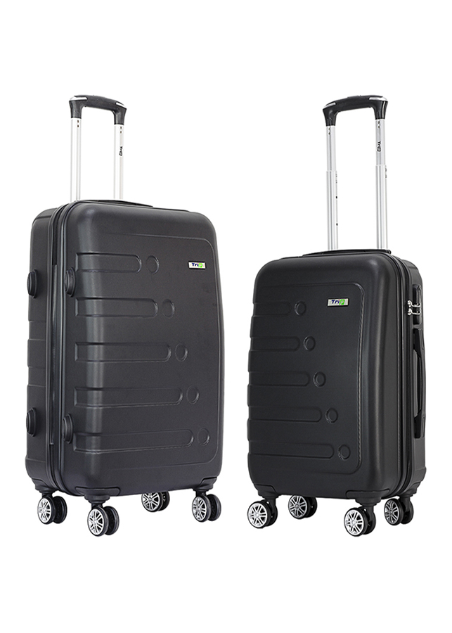 Set 2 Vali TRIP P16 Size 50 + 60 cm (20 + 24 inch) - Đen