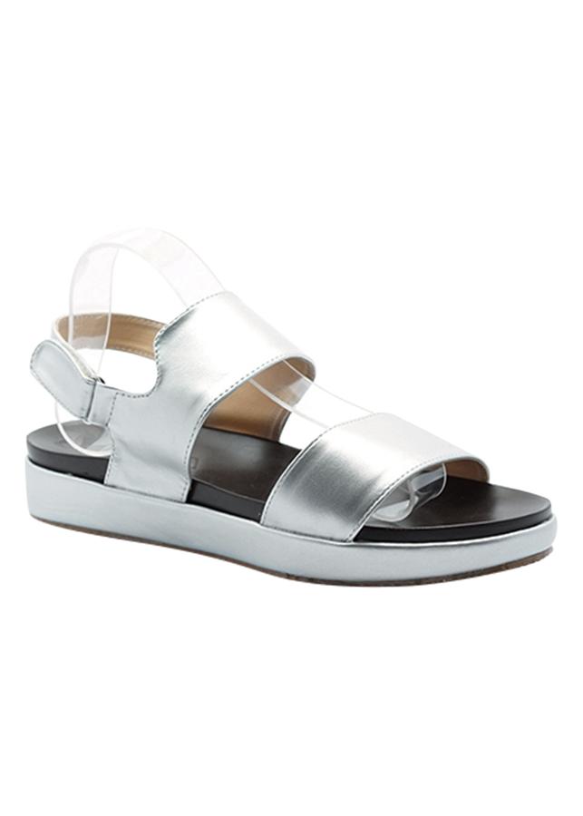 Giày Sandal Nữ Cindydrella C4b - Bạc