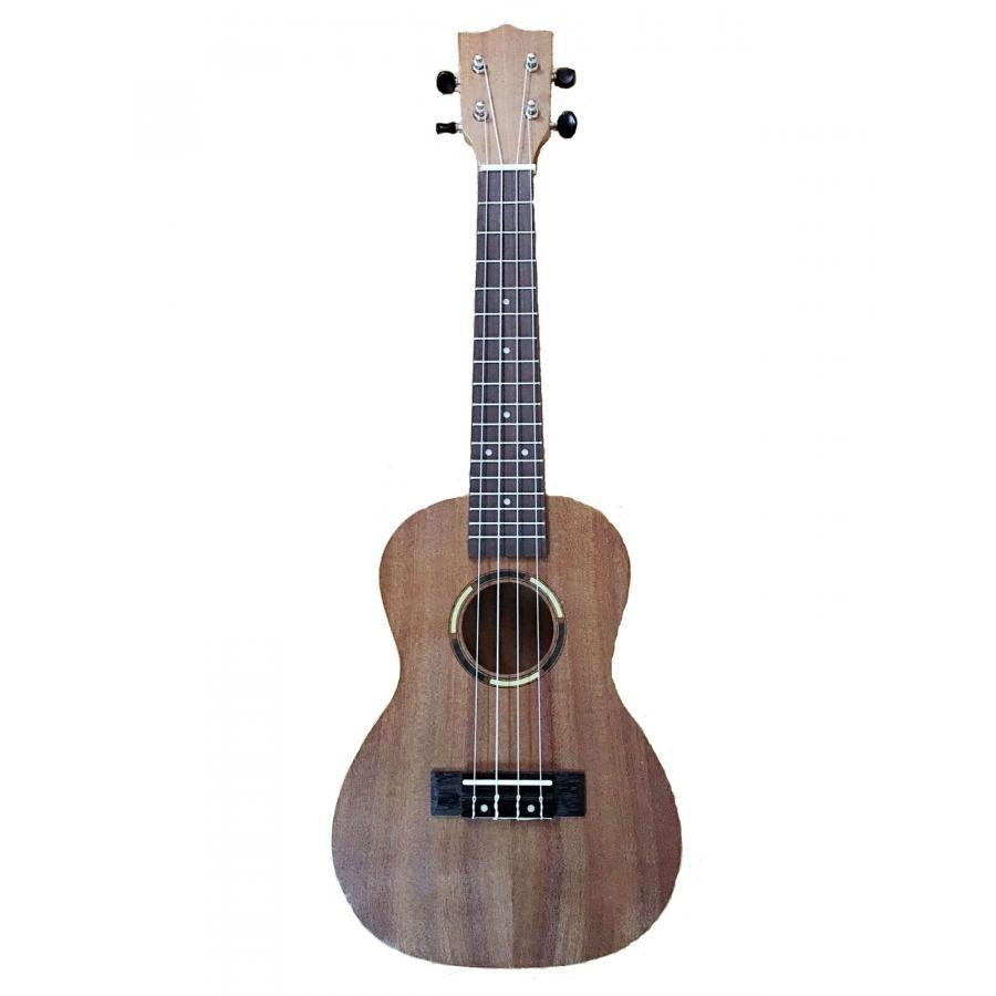Đàn Ukulele Concert gỗ Mahogany size 23 Gỗ cao cấp Nâu Đậm