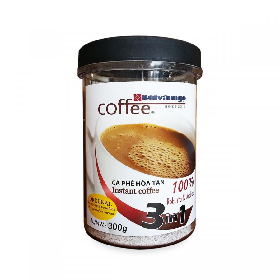 Cà phê hòa tan 3in1 Original 300gram - Bùi Văn Ngọ Coffee