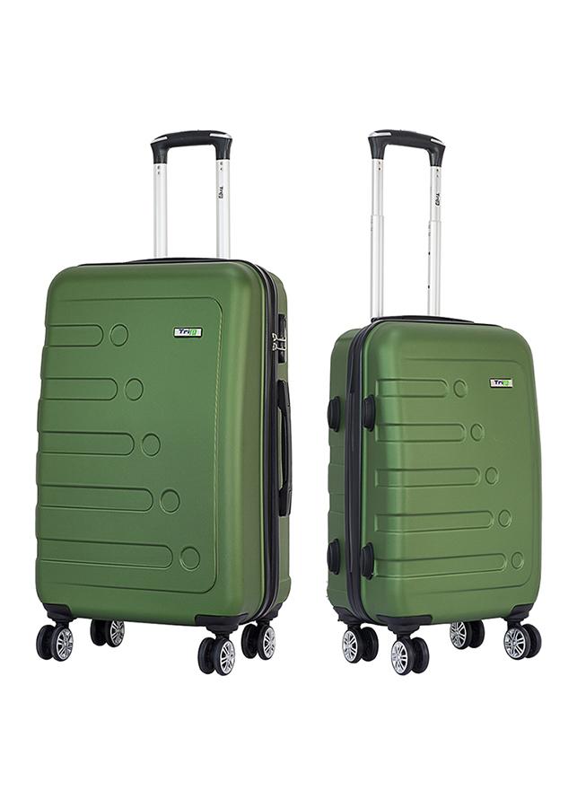 Set 2 Vali TRIP P16 Size 50 + 60 cm (20 + 24 inch) - Xanh Rêu