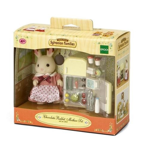 Sylvanian Families - Bộ Thỏ Chocolate Mẹ EP5014 Golden Kid