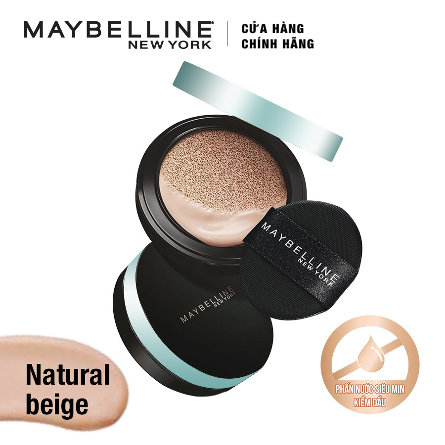 Phấn Nước Kiềm Dầu Maybelline Cushion Natural (14g)