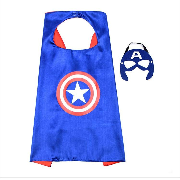 Choàng và mặt nạ siêu anh hùng Captian