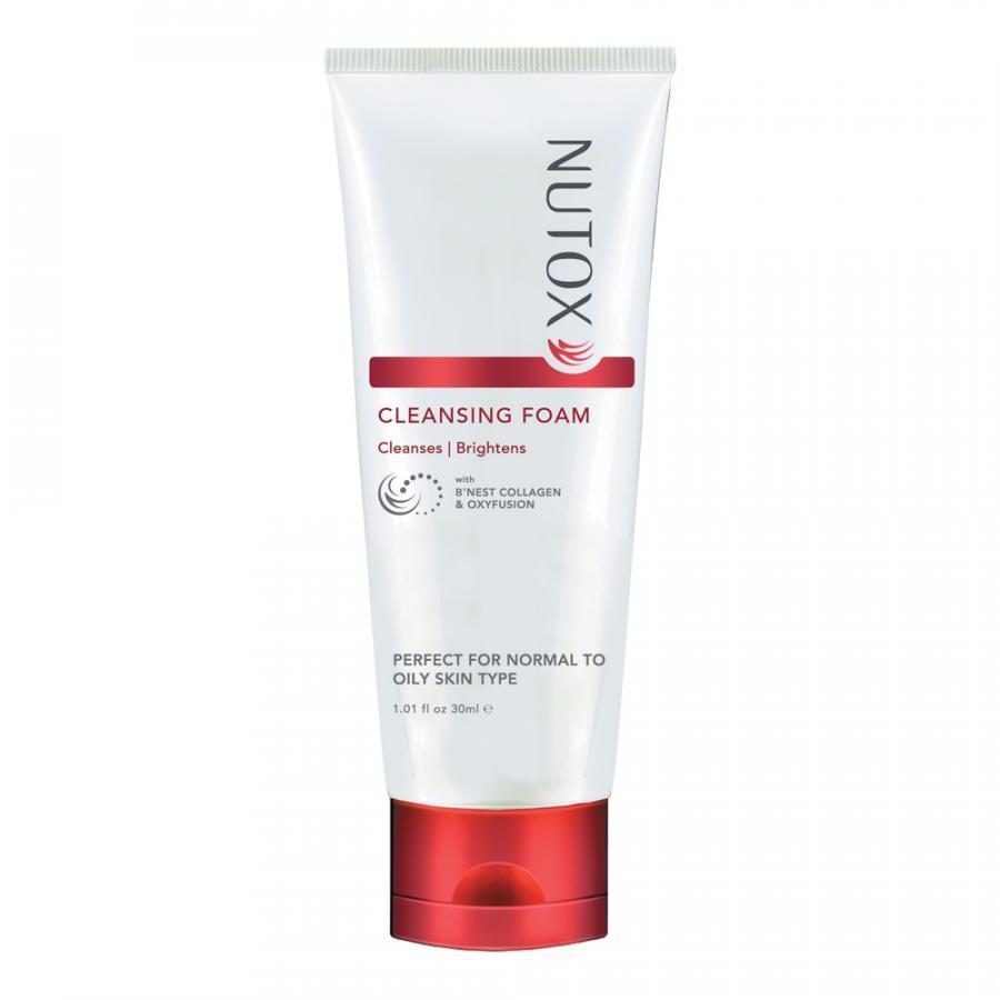 Kem rửa mặt trẻ hóa da tinh chất Collagen tổ yến thương hiệu Nutox 100ml