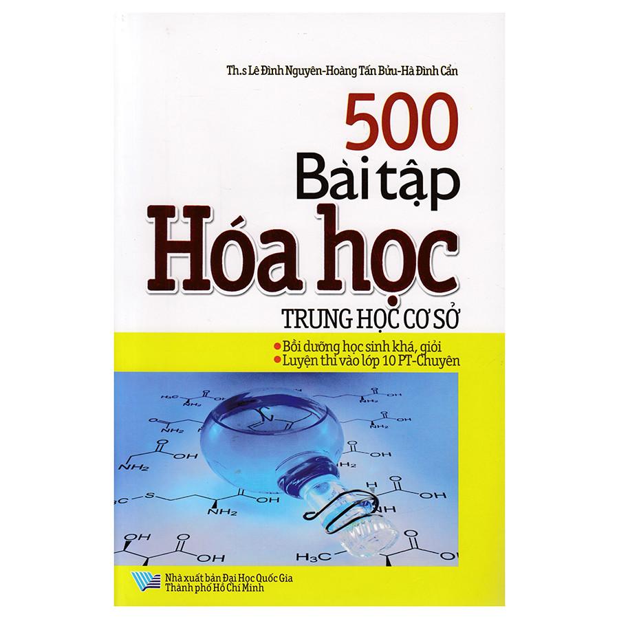 500 Bài Tập Hóa Học Trung Học Cơ Sở