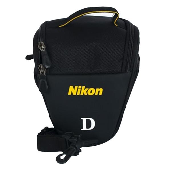 Túi Tam Giác Đựng Máy Ảnh Nikon TG-NIKON (Đen) - Hàng Nhập Khẩu
