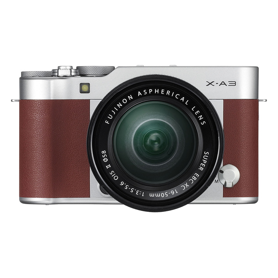 Fujifilm X-A3 + 16-50mm Brown - Hàng Chính hãng