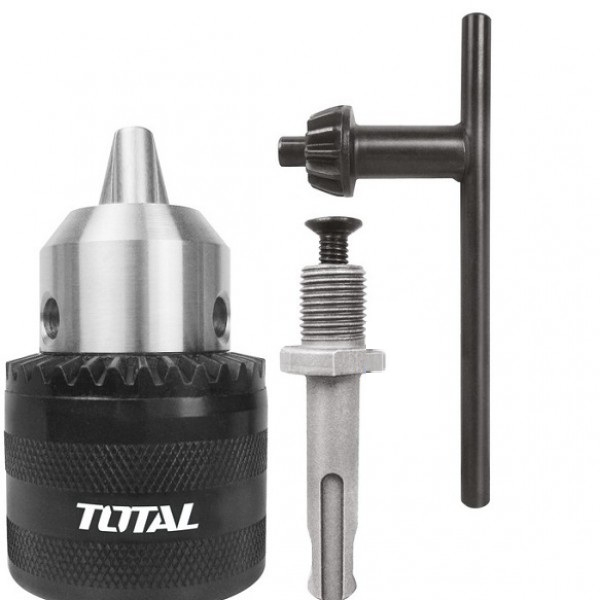 Đầu khoan có răng 13mm kèm khớp nối Total - TAC451301.1