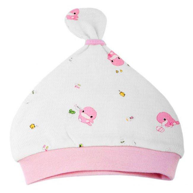 Nón cho bé sơ sinh Kuku màu hồng - KU2156H