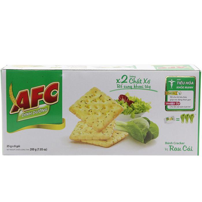 Bánh Vị Rau Cải AFC (200g)