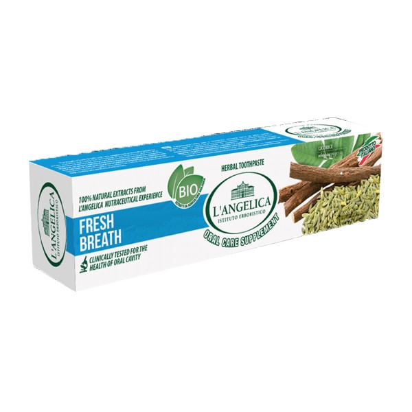 Kem Đánh Răng L'Angelica Toothpaste - Fresh Breath - Hơi thở thơm mát