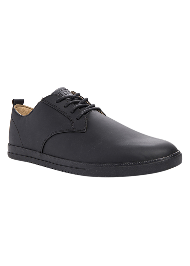 Giày Ellington Leather Clae CLA01246 Black Coated Leather