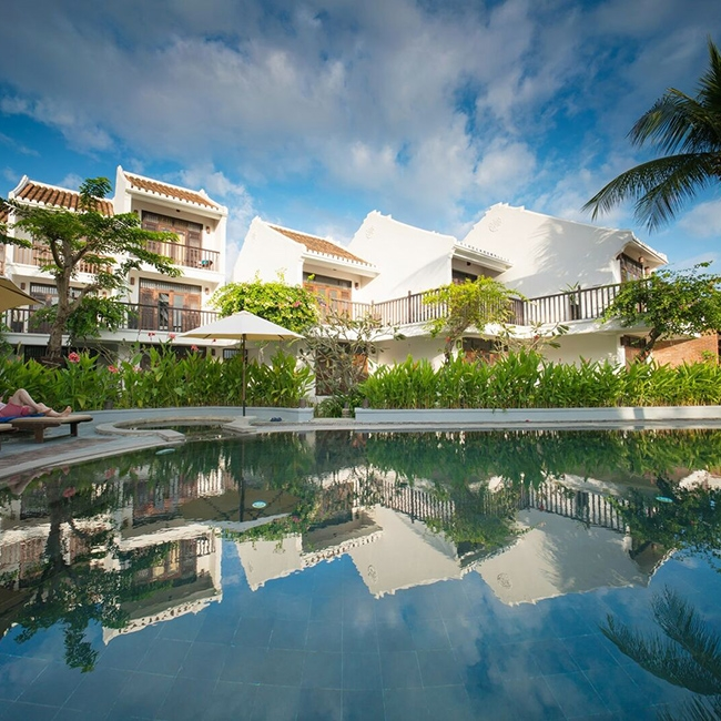 Hoi An Coco River Resort  Spa tiêu chuẩn 4 * tại Hội An