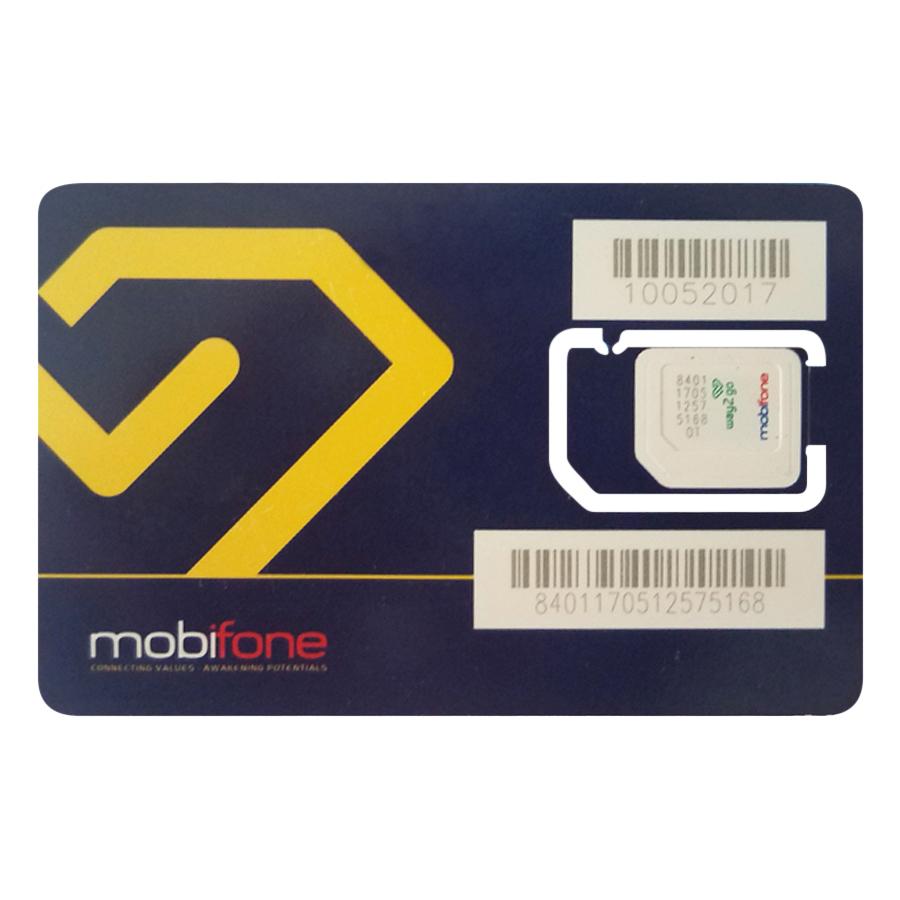 Sim 3G/4G Mobifone (Trọn Gói 12 Tháng Không Cần Nạp Tiền Duy Trì)