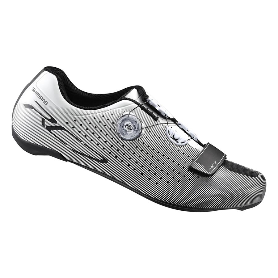 Giày Xe Đạp Shimano RC7  - Trắng