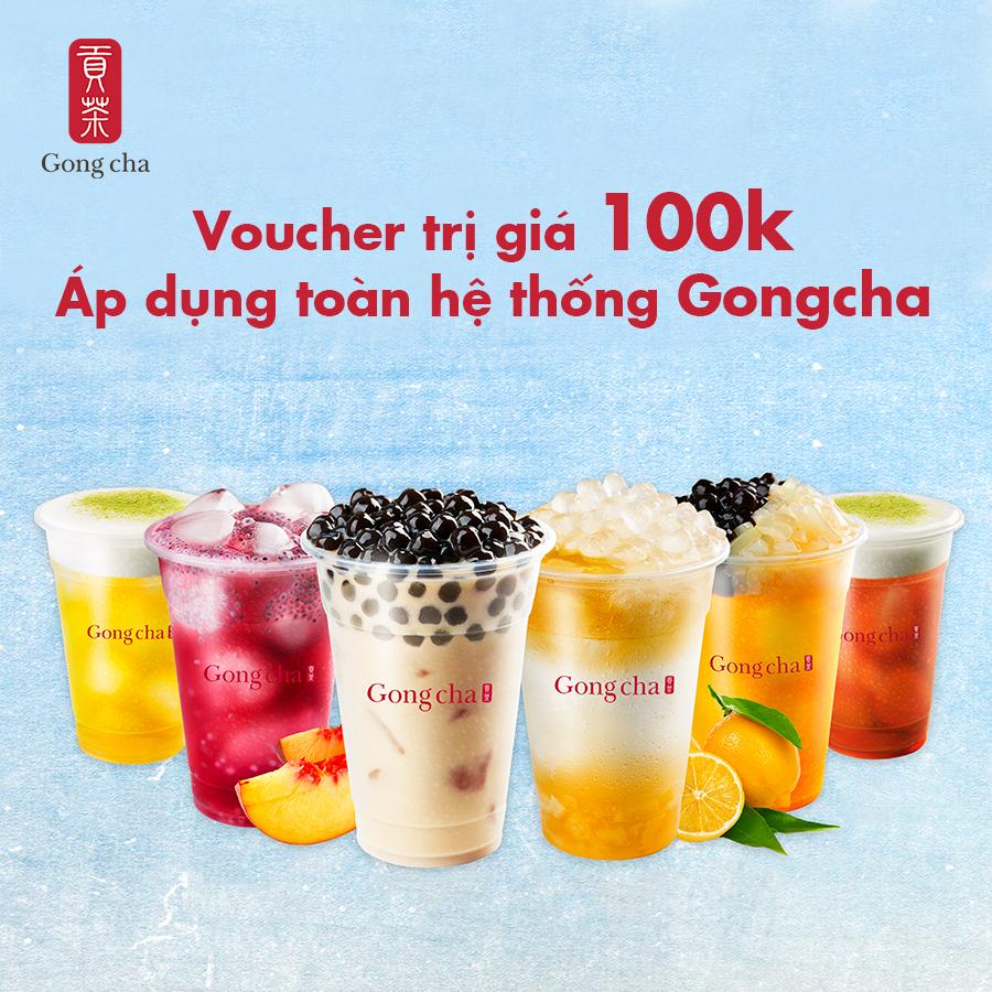 [Hot!Hot] Trà sữa GongCha - Uống Thả Ga - Áp Dụng Toàn Hệ Thống