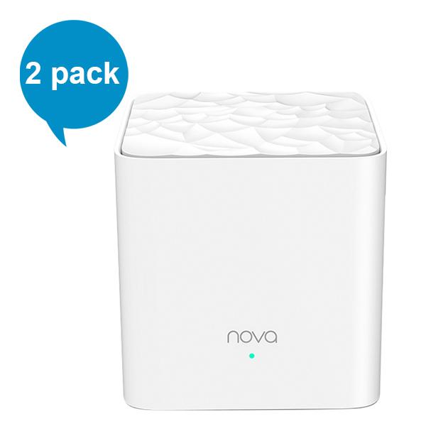 Router Wifi Tenda MW3 Mesh (2 pack) - Hàng Chính Hãng