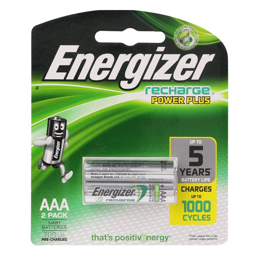 Pin Sạc Đa Năng Power Plus AAA 700mAh Energizer NH12 RP2