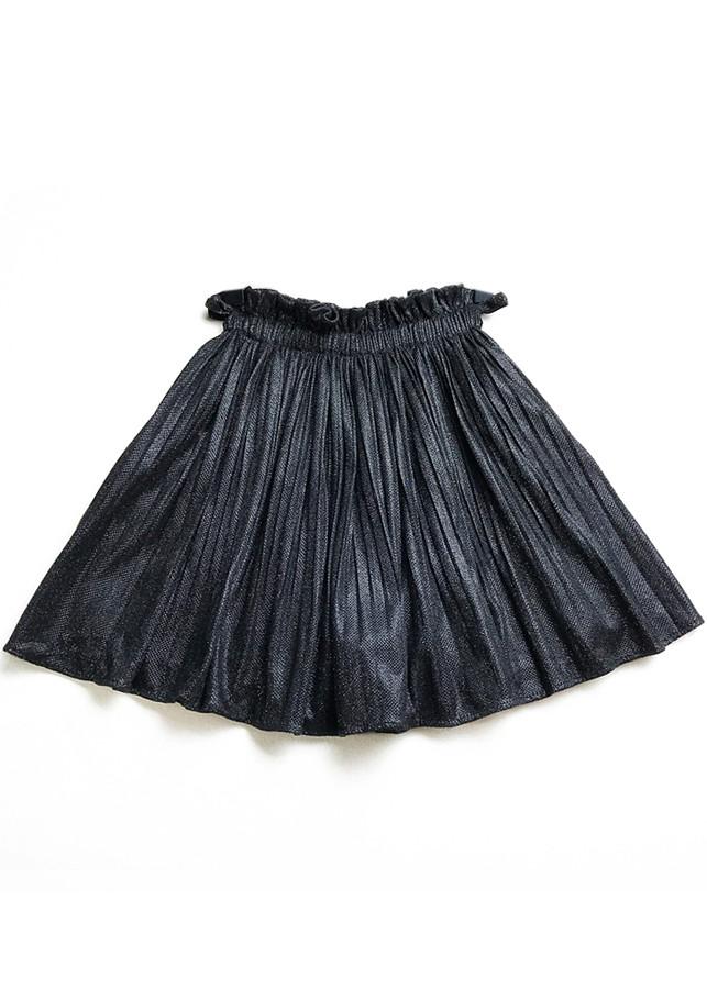 Chân váy ngắn xếp ly xòe tròn nhún eo
