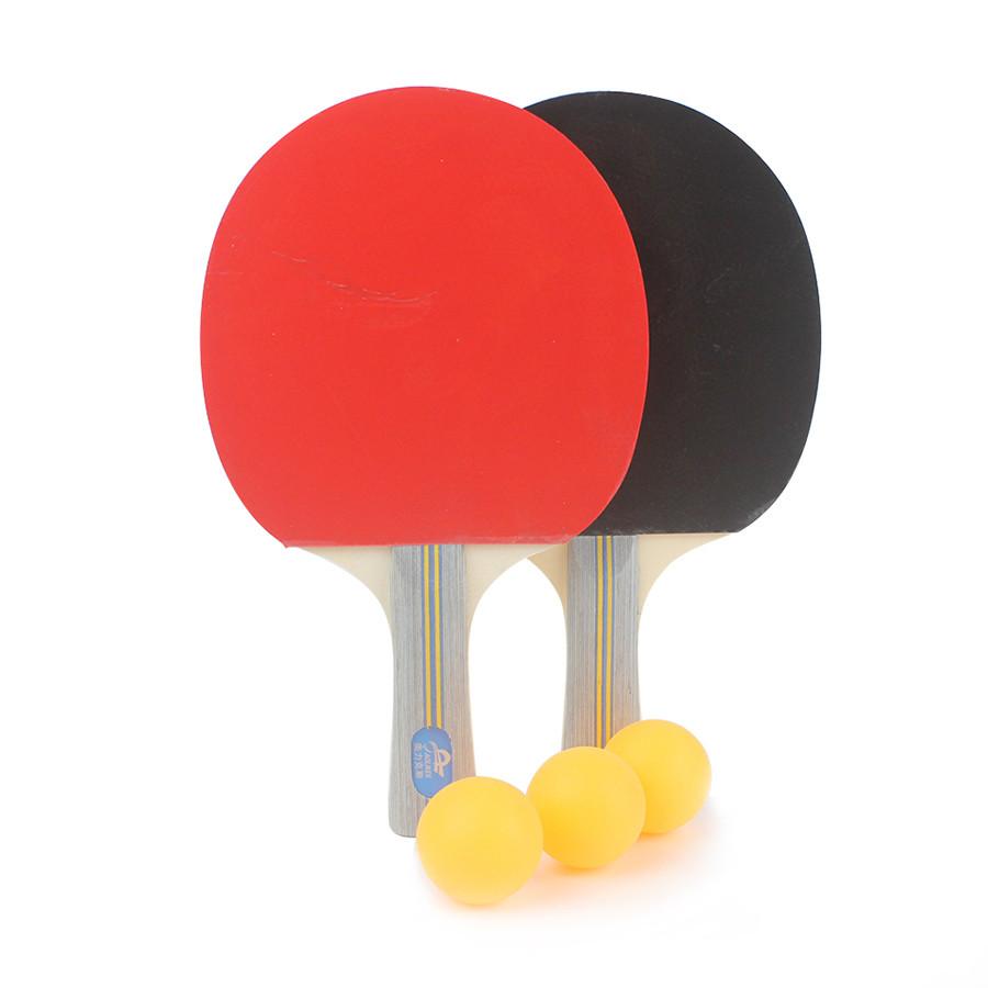 Bộ 2 vợt bóng bàn cao cấp Aolikes AL9841B (tặng kèm 3 bóng)