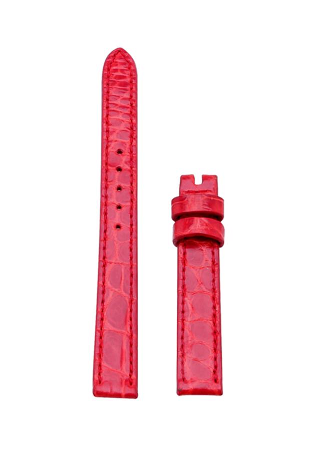 Dây Đồng Hồ Da Cá Sấu Size Nhỏ Huy Hoàng HT8230 - Đỏ