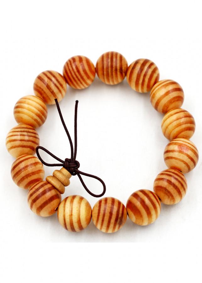 Vòng tay chuỗi hạt gỗ Huyết rồng 15 ly hồ lô