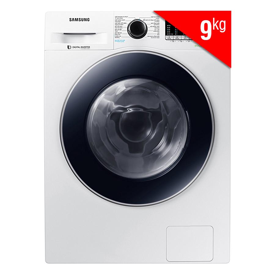 Máy Giặt Cửa Trước Samsung Inverter WW90J54E0BW/SV (9kg)
