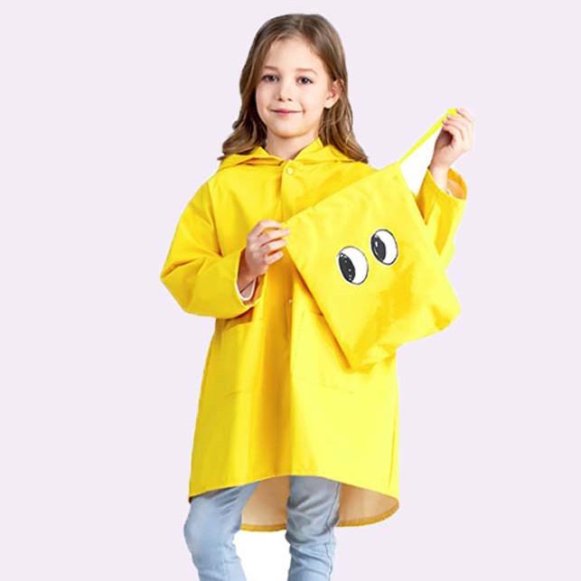 Áo mưa hình thú siêu dễ thương cho bé (giao màu ngẫu nhiên)