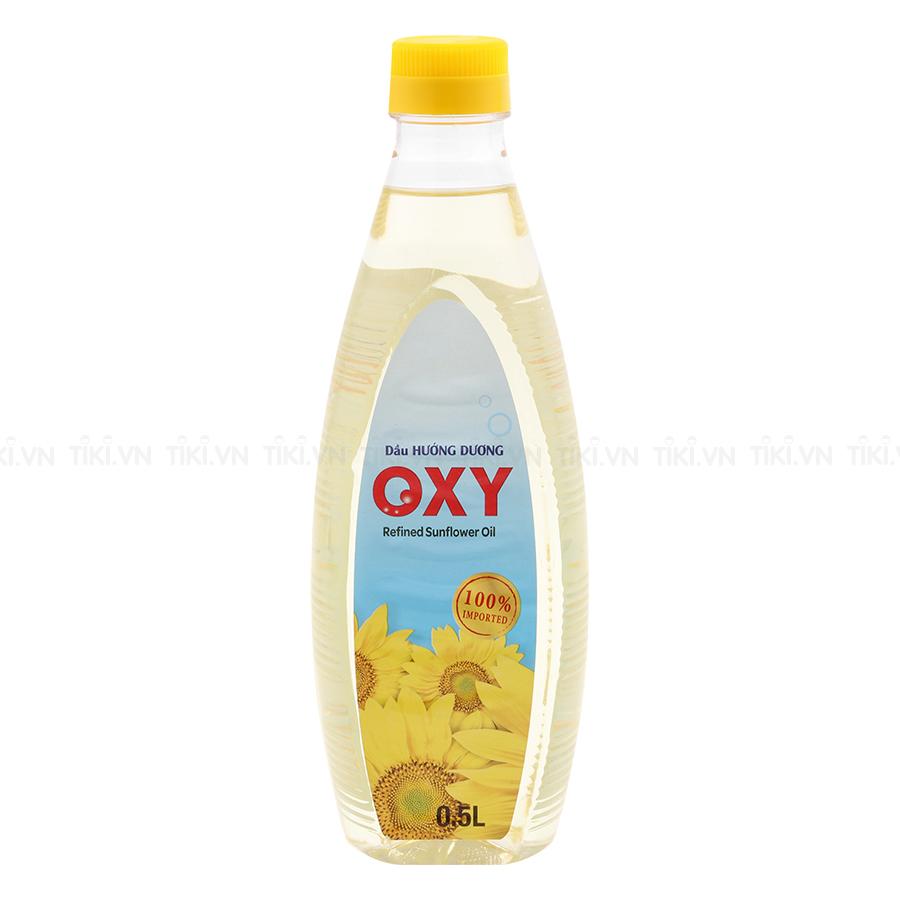 Dầu Hướng Dương Oxy (0.5L)