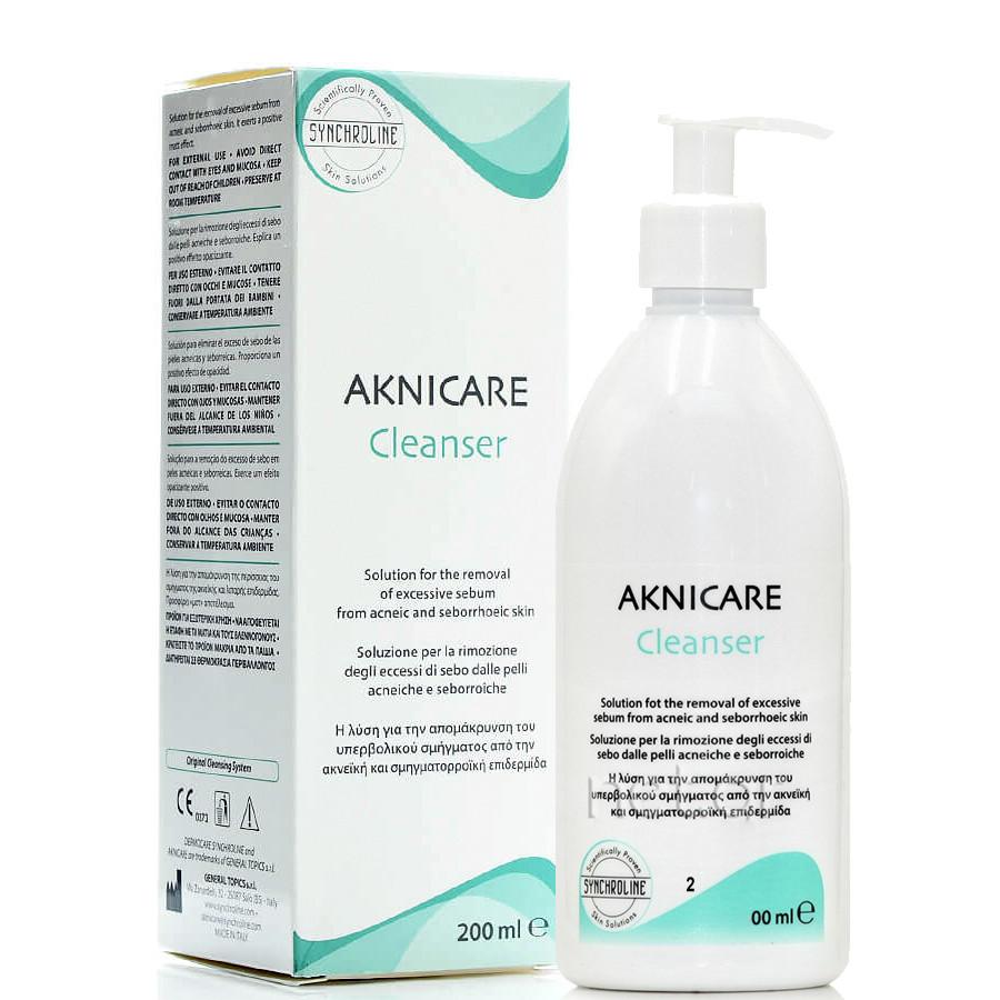 Gel rửa mặt cho da mụn Aknicare Cleanser
