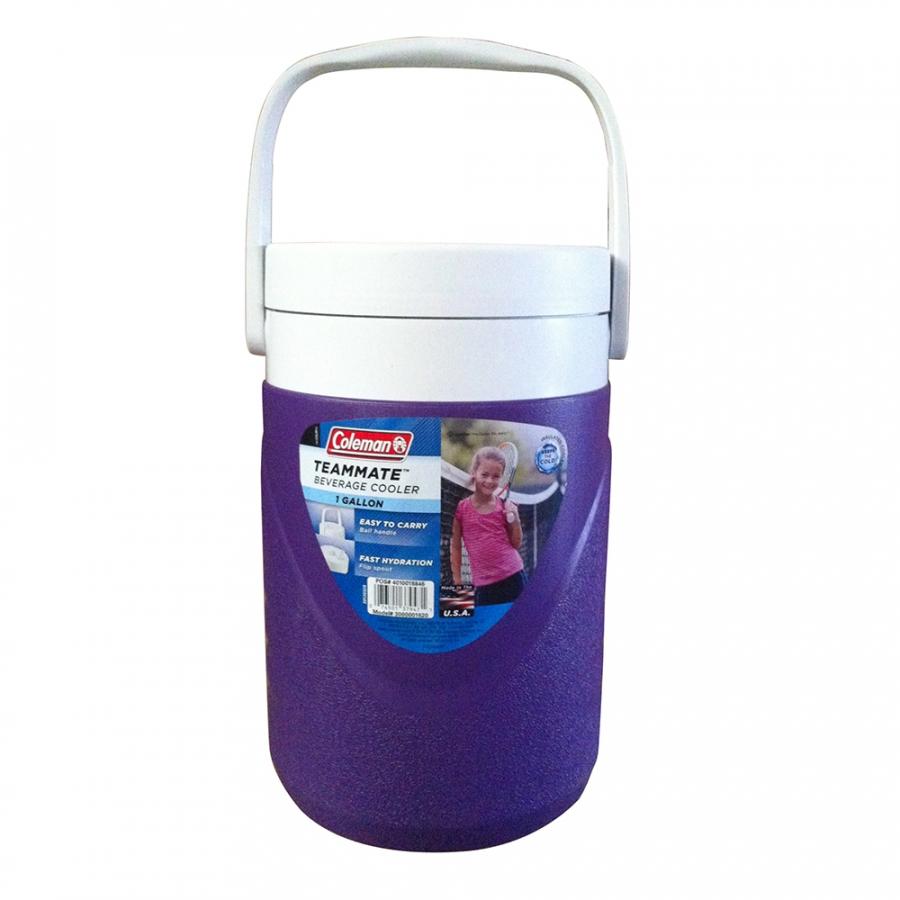 Bình giữ nhiệt Coleman 3000001620 - 3.8L - Tím - 1 Gallon Polylite Jug N/S (Purple)