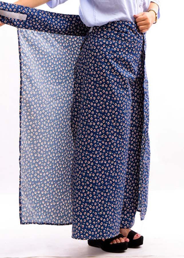 Váy chống nắng dạng quần cho nữ (giao họa tiết ngẫu nhiên )