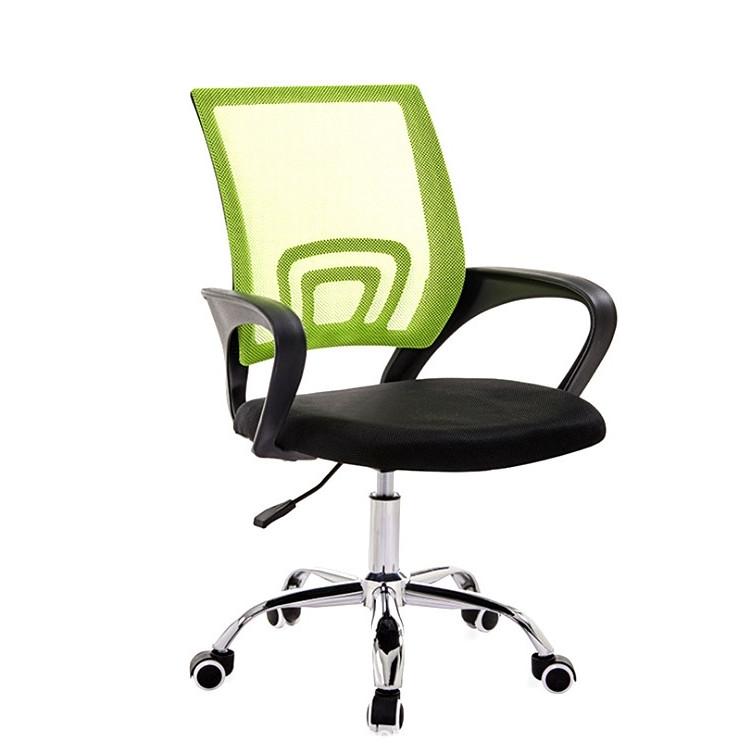 Ghế xoay văn phòng mẫu mới cao cấp GX001 Xanh lá