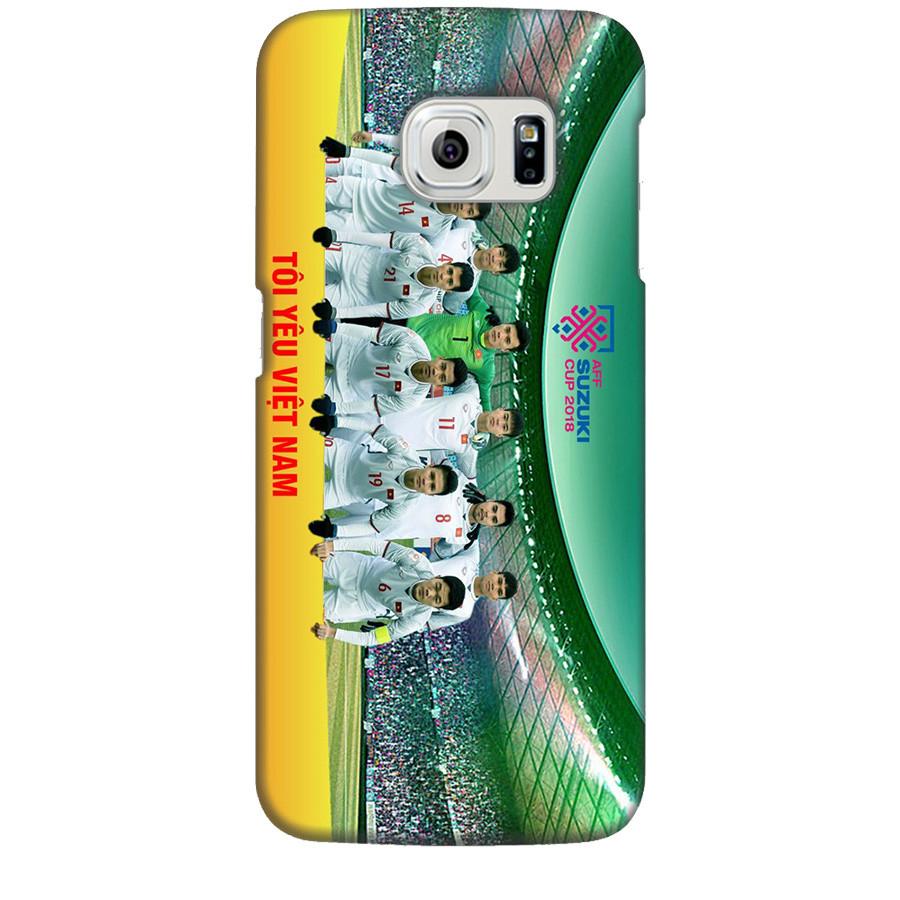 Ốp Lưng Dành Cho Samsung Galaxy S6 Edge AFF Cup Đội Tuyển Việt Nam Mẫu 4