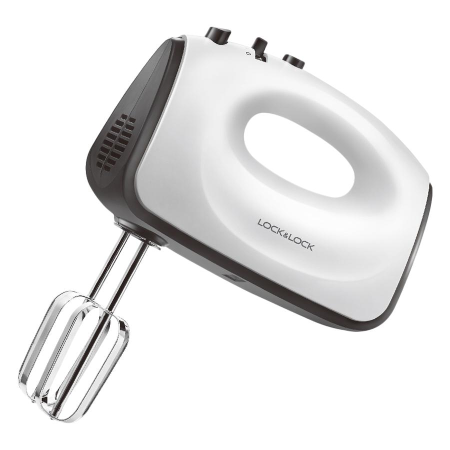 Máy Đánh Trứng LockLock Hand Mixer EJM501BLK (300W) - Trắng