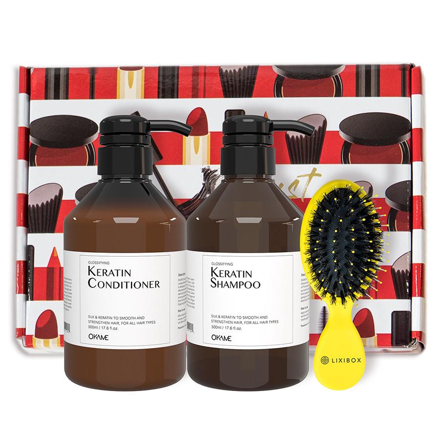 Bộ sản phẩm chăm sóc tóc cao cấp OKAME