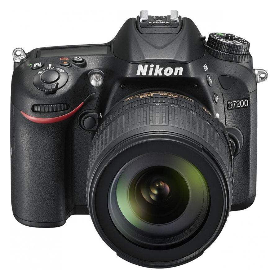 Máy Ảnh Nikon D7200 24.2MP Với Lens 18-105mm VR (Đen) - Hàng Nhập Khẩu