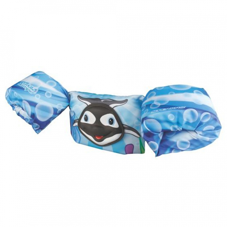 Phao đeo tay Deluxe 3D Coleman - 2000017981 - Xanh biển - Puddle Jumper Deluxe 3D - Bahamas Orca
